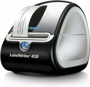 DYMO LabelWriter 450 LW Model No. 1750110 Silver & Black W/ Labels NEW