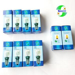 10 x SINCO E14 salt lamp globe bulb 15w