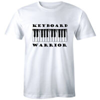 Keyboard Warrior Men's T-Shirt Piano Instrument Music Lover Gift Tee