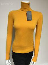 Zara Polo Neck Regular Size Jumpers & Cardigans for Women