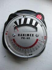 Vintage Hanimex PR-60 Exposure light meter withcase