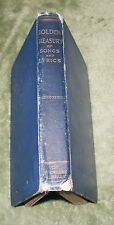 THE GOLDEN TREASURY OF SONGS AND LYRICS 2nd Series 1899 HB ~ 1st Ed 2nd Reprint