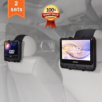 TFY Car Headrest Mount Holder for SYLVANIA SDVD9805 DVD Player fit all 7-10 inch