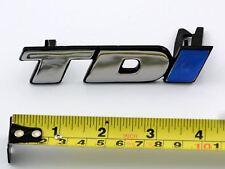 TDi GRILLE BADGE BLUE I NEW FOR VW TRANSPORTER T4 96>04 GOLF MK3 92>98 VENTO