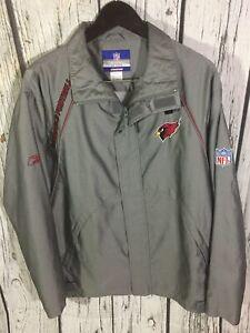 Men's Medium NFL Team Apparel Reebok Arizona Cardinals Jacket
