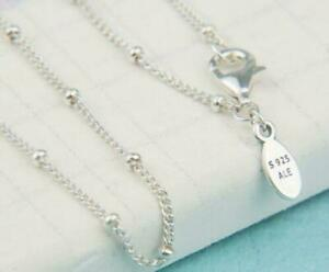 Genuine PANDORA Sterling Silver BEADED Necklace 397210 70cm S925 ALE