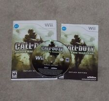 Call of Duty: Modern Warfare -- Reflex Edition (Nintendo Wii, 2009) Complete