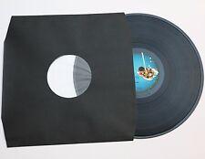 50 St. LP Schallplatten Innenhüllen schwarz mit Eckenschnitt gefüttert 80 gr.