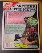 MOTHER EARTH NEWS MAGAZINE JAN/FEB 1982 YEAR ROUND GARDEN WELDING SILO LIVING