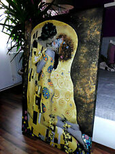 ikea deko bilder drucke mit gustav klimt g nstig kaufen ebay. Black Bedroom Furniture Sets. Home Design Ideas