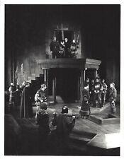"Christopher Plummer ""MACBETH"" William Hutt 1962 Stratford Festival Press Photo"
