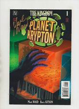 The Kingdom Planet Krypton #1 - Signed By Mark Waid - (Grade 9.2) 1999