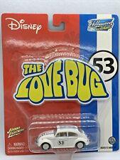 Johnny Lightning Disney Hollywood on Wheels HERBIE the LOVE BUG # 53 Diecast