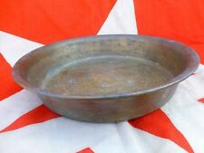 Antique primitive old bronze pot basin 1.5kg