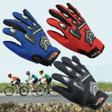 Kids Child Bike Bicycle Cycle Full Finger Gloves Boy Girls Sports MTB BMX Racing