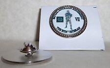 HM Armed Forces 7th Btn The Anglian Regiment Veteran lapel pin badge .