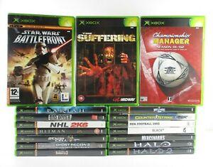 Xbox Original Games Pick Your Own Bundle Free UK Postage