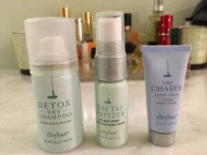 DRYBAR 3 PC SET DETOX DRY SHAMPOO, MAI TAI SPRITZER & THE CHASER BRAND NEW