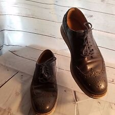 Men's Cole Haan C12088 Lunarlon Lunargrand Wingtip Shoes Size 7.5M Blue
