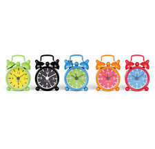 Kikkerland Mini Bell Alarm Clock Key Ring your choice of 6 colors CL13M-A