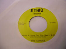 THE ECHOES Turn Your Radio On/Here's A Song For The Man 45 RPM Ethic Records EX