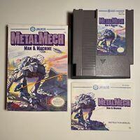 Metal Mech NES Nintendo Complete CIB Original Authentic Tested CLEAN!
