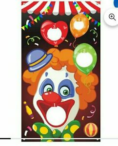 Carnival Toss Games with 3 Bean Bag, Fun Carnival Game for Kids and Adults in...