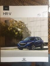 2016 Honda Hr-V Brochure