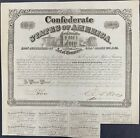 $100 Confederate States Coupon Bond – Criswell 128, Ball 260