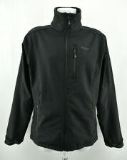 BERGANS OF NORWAY Mens Softshell Jacket 1538 Nusfjord Zip Neck Black Size M