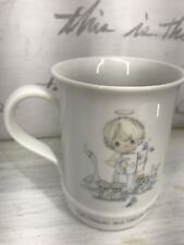 Precious Moments Musical Mug plays Let Heaven and Nature Sing