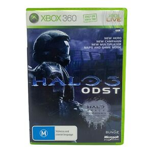 Halo 3: ODST for Xbox 360 - Complete w Manual - Tested & Working
