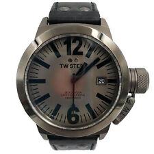 TW Steel Titanium PVD CEO Canteen Sapphire Gray Dial Quartz Mens Watch CE1051