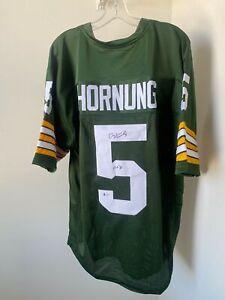 Paul Hornung Signed Green Bay Packers Jersey Beckett BAS COA Notre Dame HOF Auto