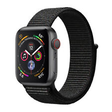 Apple Watch Series 4 40 mm Space Grey Aluminum Case with Black Sport Loop (GPS + Cellular) - (MTVF2B/A)