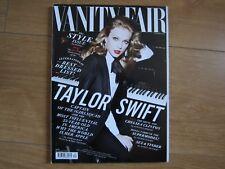 Vanity Fair Magazine September 2015 Taylor Swift New.