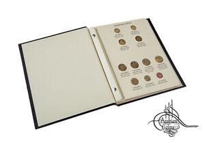 Egypt 1984-2012 Coin Album inc. 1985 1986 1988 1989 1992 1993 2004 2005 2007 etc