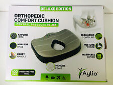 Aylio Orthopedic Deluxe Edition Comfort Cushion Seat Central Pressure Relief