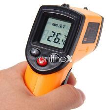 Termómetro Láser Medidor Temperatura Infrarrojo Digital  LCD a2458