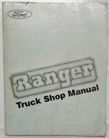 1983 Ford Ranger Pickup Truck Service Shop Repair Manual