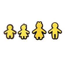 Decora 0255161 - Famiglia Felice Set Tagliapasta con Imprimi Decori, Plastica, G