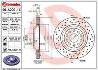 BREMBO 09.A200.1X Bremsscheiben