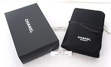 CHANEL Mirror Makeup Brush Holder Cosmetics Organizer Storage Pouch Travel Case