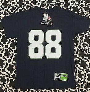 Seahawks NFL TEAM APPAREL Mens Large Jimmy Graham #88 T-Shirt Blue