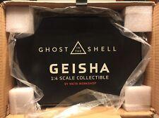 Ghost In The Shell, GEISHA by Weta Workshop 1:4 scale mixed media figure NIB!!!
