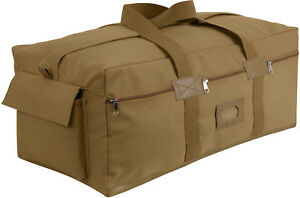 Tactical Israeli Mossad IDF Heavy Duty Cotton Canvas Carry Duffle Bag