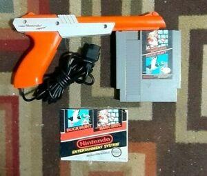Super Mario Bros./Duck Hunt + Zapper Light Gun (Nintendo NES System 1988) Tested