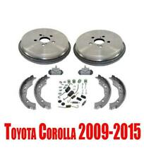 Brake Drums Shoes Wheel Cylinders & Hardware for Toyota Corolla 2009-2015