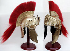 Medieval Viking Roman Armor Helmet King Leonidas 300 Spartan Armour Helmet Brass