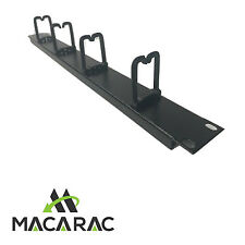 "1U CABLE MANAGEMENT PANEL 4 CLIP IN D RINGS (19"" Inch 1U Rack-Mount Application)"